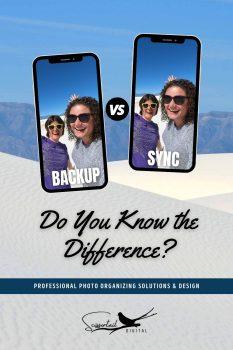 Backup vs Sync