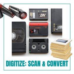 digitize scan convert