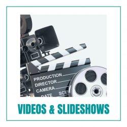 videos slideshows